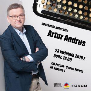 Forum Gliwice: Artur Andrus – spotkanie autorskie @ Gliwice | śląskie | Polska