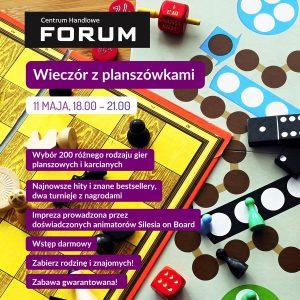 Forum Gliwice: Planszówkowy zawrót głowy @ Gliwice | śląskie | Polska