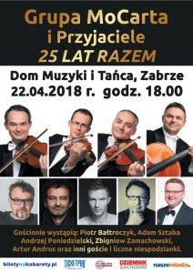 Dom Muzyki i Tańca w Zabrzu: Grupa Mocarta i Przyjaciele - 25 lat razem @ Zabrze | śląskie | Polska