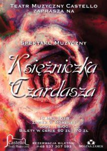 Teatr Muzyczny Castello w Mosznej: Spektakl Księżniczka Czardasza @ Moszna | opolskie | Polska