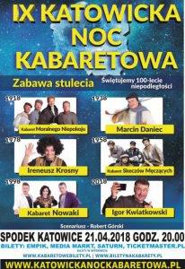 Spodek Katowice: IX Katowicka Noc Kabaretowa @ Katowice | śląskie | Polska