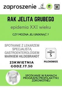 Pilchowice: Spotkanie z lekarzem specjalistą Markiem Hildebrandt @ Pilchowice | śląskie | Polska