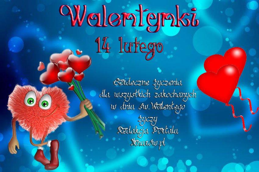 14 Lutego św Walentego święto Zakochanych Iknurówpl Iknw
